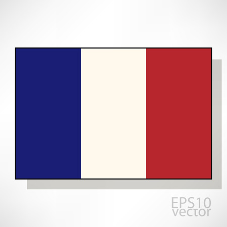 flag france: France flag illustration