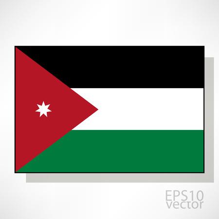 jordan: Jordan flag illustration