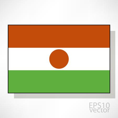 niger: Niger flag illustration