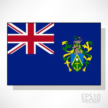 pitcairn: Pitcairn Islands flag illustration