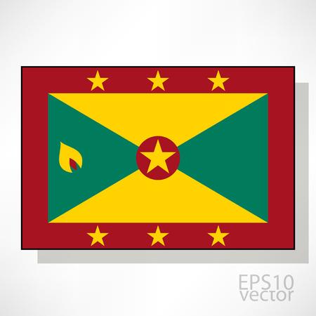 grenada: Grenada flag illustration