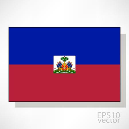 haiti: Haiti flag illustration