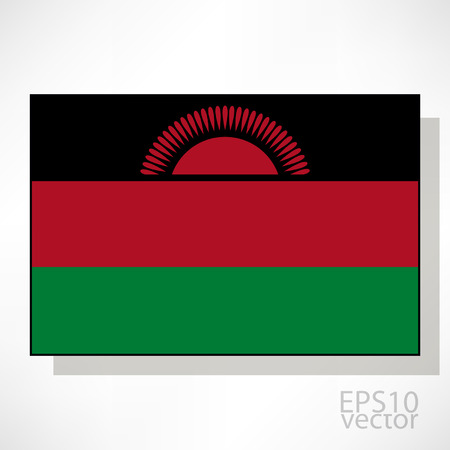malawi: Malawi flag illustration Illustration