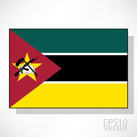 mozambique: Mozambique flag illustration