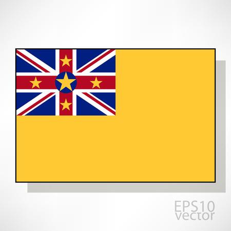 niue: Niue flag illustration