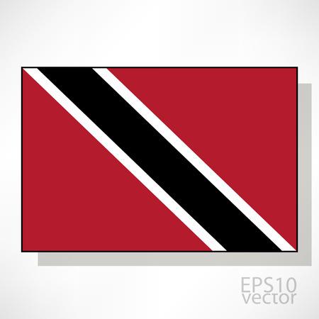 tobago: Trinidad and Tobago flag illustration