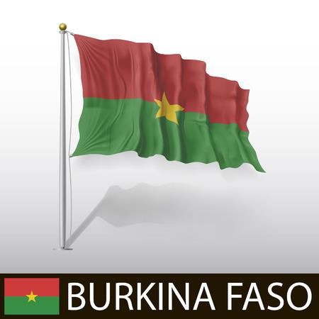 burkina faso: Flag of Burkina Faso