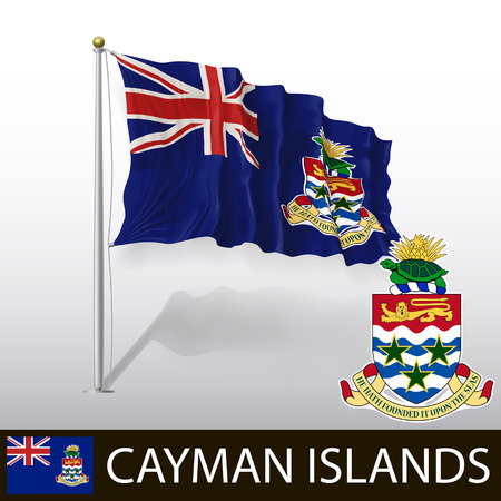 georgetown: Flag of Cayman Islands