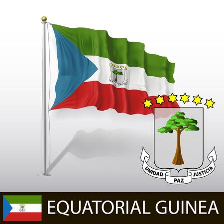 guinea equatoriale: Bandiera della Guinea Equatoriale