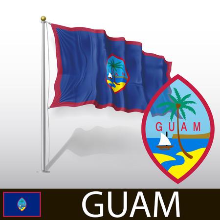 guam: Flag of Guam