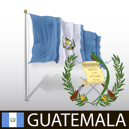 Flag of Guatemala Vector