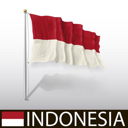indonesia: Flag of Indonesia