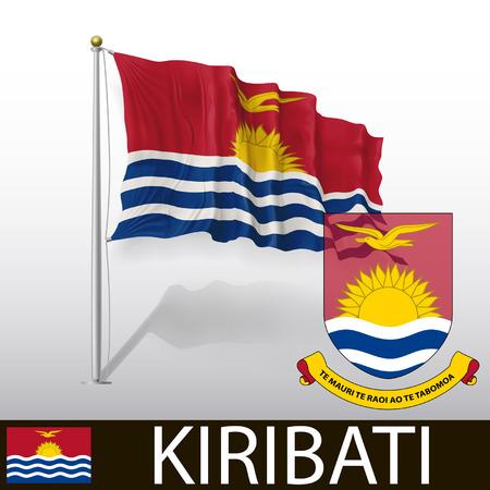kiribati: Flag of Kiribati