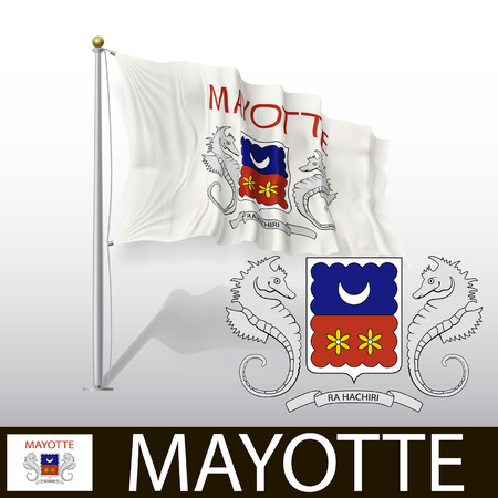 mayotte: Flag of Mayotte