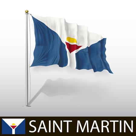 martin: Flag of Saint Martin