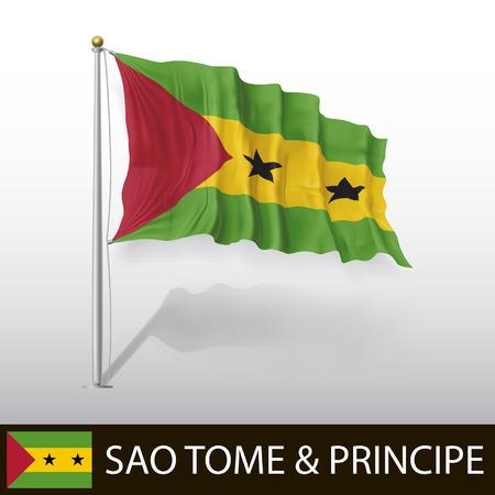 tome: Flag of Sao Tome and Principe