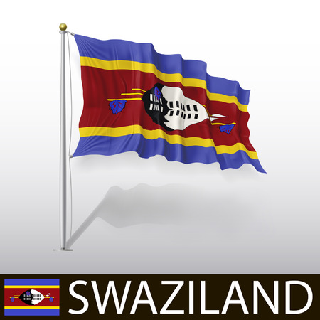 swaziland: Flag of Swaziland