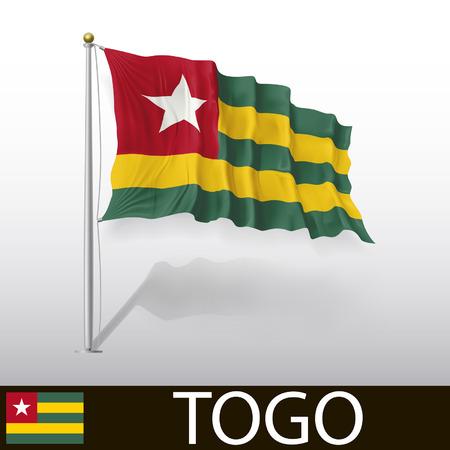 togo: Flag of Togo