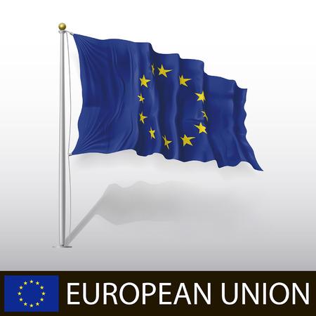 Flags European Union Vector