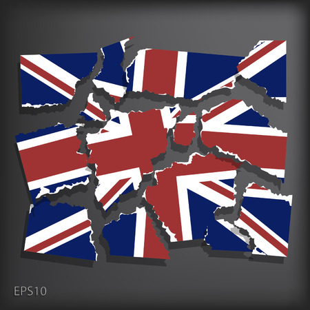 smashed paper: Britain