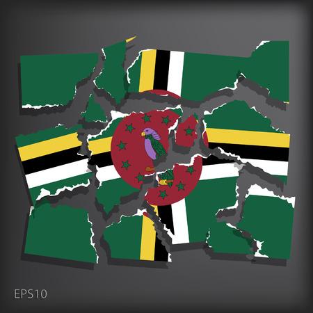 dominica: Dominica Illustration