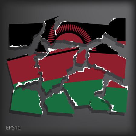 malawian flag: Malawi