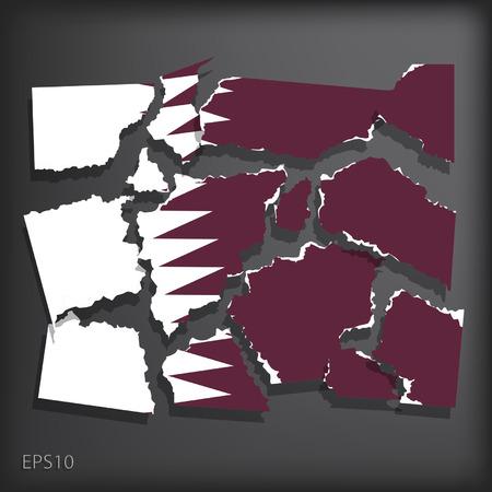 chunk: Qatar Illustration