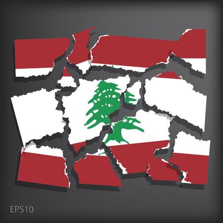 Lebanon Vector
