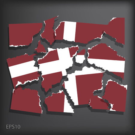 smashed paper: Maltese Order Illustration