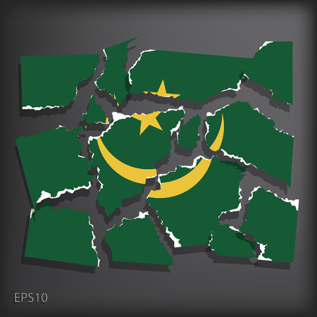 mauritania: Mauritania Illustration