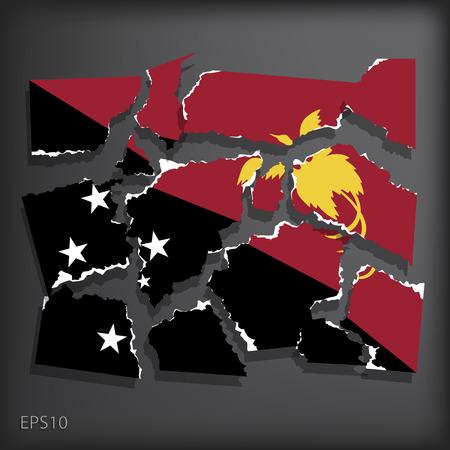 papouasie: Papouasie-Nouvelle-Guin�e Illustration