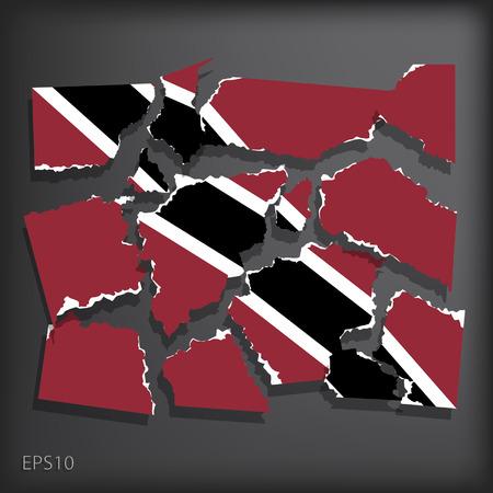 disrupted: Trinidad and Tobago Illustration