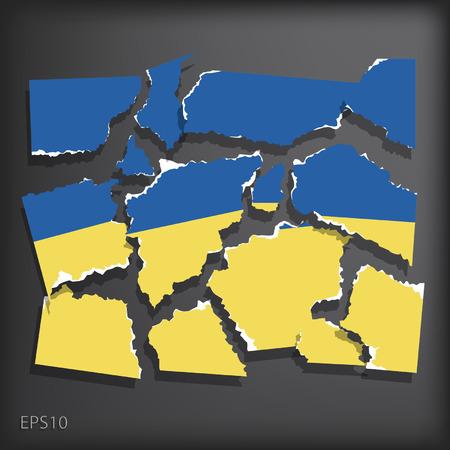 disrupted: Ukraine Illustration