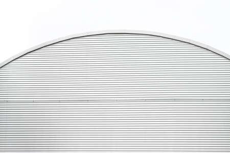 Top part of a metallic building 写真素材