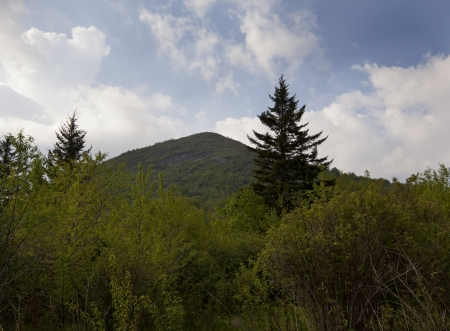 Sam s Knob in Black Blasam area off the Blue Ridge Parkway Stock Photo - 18134473