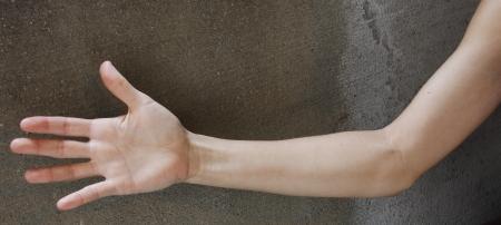 A females arm