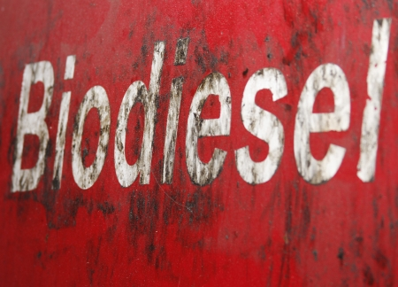 A greasy biodiesel sign