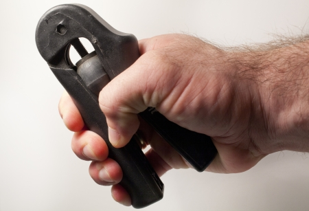gripper: A hand gripper exercise