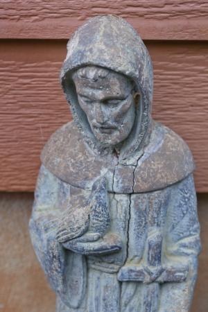 Saint Francis Of Assisi Garden Sulpture Photo