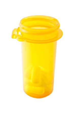 An isolated prescrption pill bottle Stock Photo - 19622924