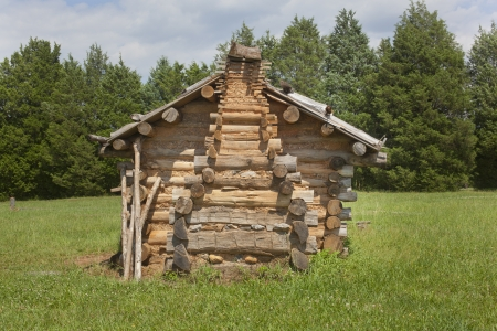 homestead: A replica of an old colonial homestead