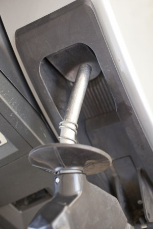 A fuel pump at a gas station Stock Photo - 20432499