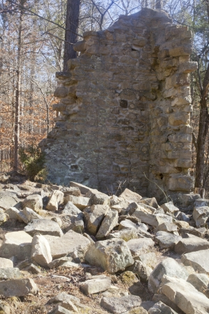 Stonewall ruins in Charlotte North Carolina photo