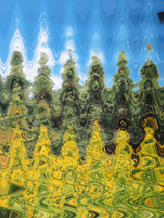 A wavy abstract background image