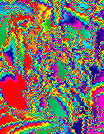 psychedelia: Abstract psychedelic background image