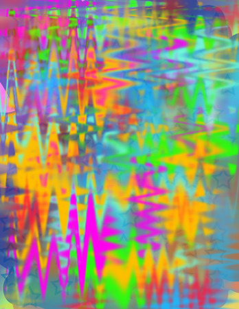 A colorful neon abstract background image  Stock Photo