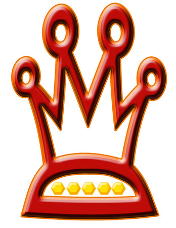 A two dimensional crown design