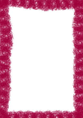 A messy magenta background border Stock Photo