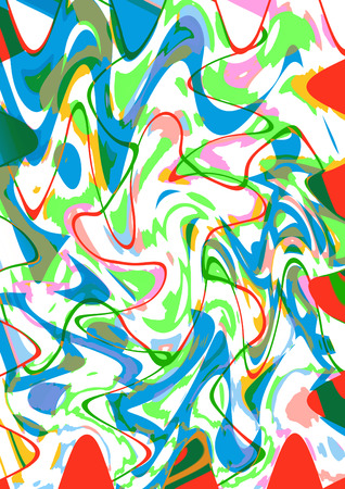 squiggly: Colorful abstract background image