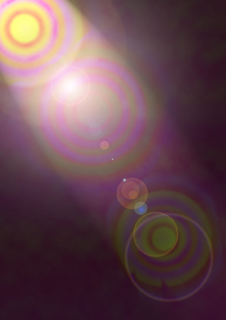lens flare: An abstract colorful lens flare background image.